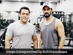 Salman Khan's <I>Dabangg 3</I> Co-Star Sudeep Shares An Update About The Film's Climax Scene