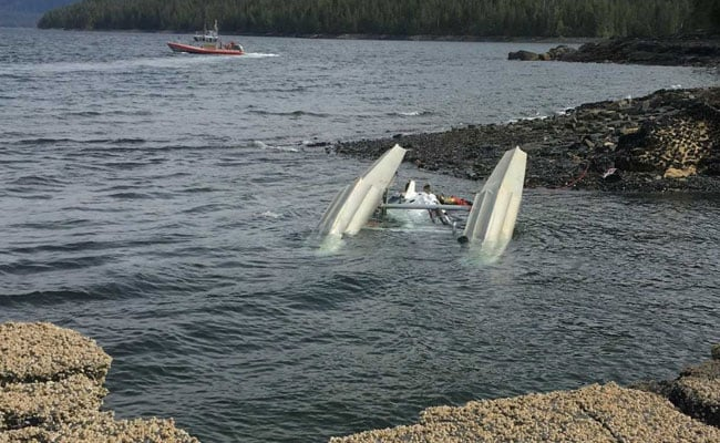 Pilot Reports Flash Just Before Fatal Mid-Air Alaska Plane Collision