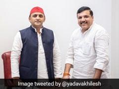 Election Results: चुनावी नतीजों से पहले अरविंद केजरीवाल और अखिलेश यादव ने एक दूसरे को बताया साथ-साथ