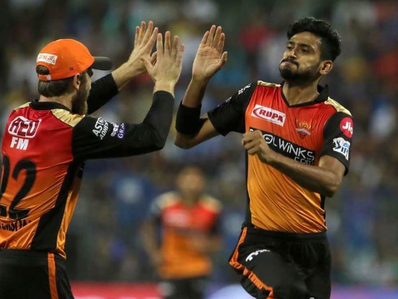 IPL Live Score, MI vs SRH IPL Score: Khaleel Ahmed Strikes Twice For SunRisers Hyderabad, Mumbai Indians Three Down
