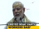 Video : PM Modi Addresses BJP Workers In Varanasi After Massive Win