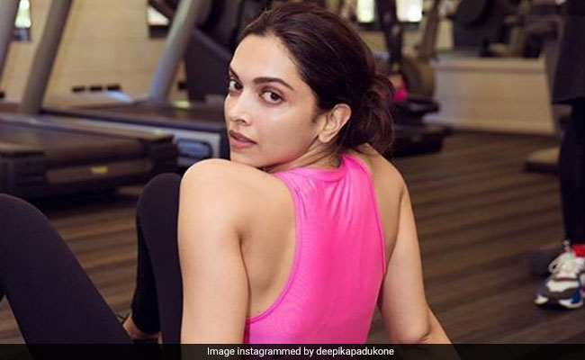 Deepika Padukone's ROFL Adventures In The Gym. Cannes, Here She Comes
