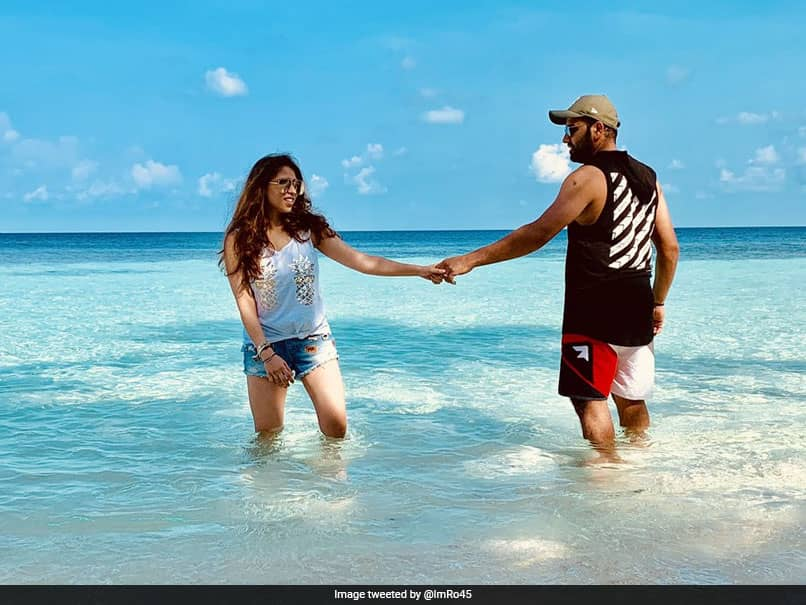 """Rohit Sharmas Perfect Getaway With """"Partner In Crime"""". See Pics"""