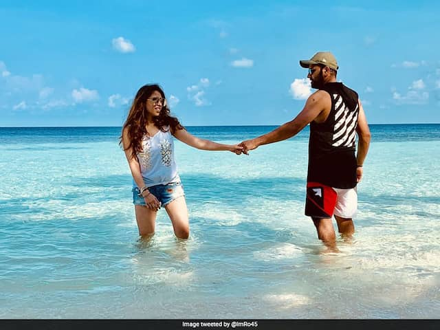 "Rohit Sharmas Perfect Getaway With ""Partner In Crime"". See Pics"