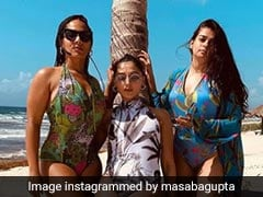 Masaba Gupta's All-Girls Mexico Vacay Is All About Sun, Sea, Sand And Swimsuit Goals