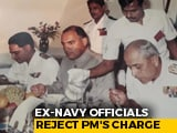 "Video : No Rajiv Gandhi ""Party"" On INS Viraat, Says Ex-Commander Of Navy Warship"