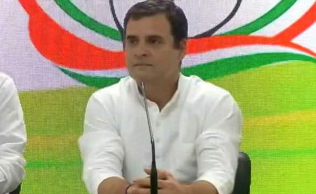 Rahul Gandhi Replies To Notice On 'New Law To Shoot Tribals' Remark