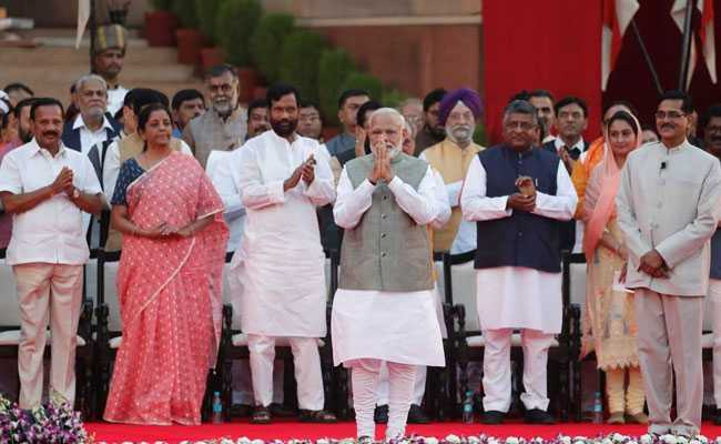 51 Of 56 Union Ministers In New Central Government Are Crorepatis