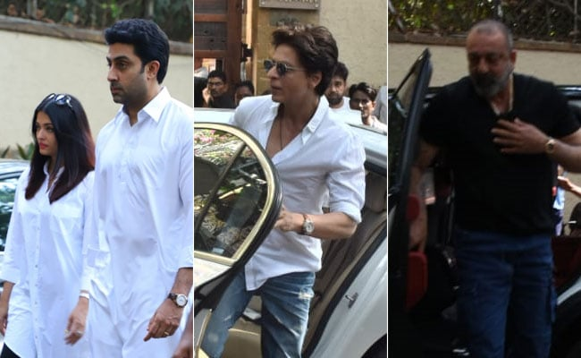 Veeru Devgan Dies. Shah Rukh Khan, Aishwarya And Abhishek Bachchan, Sanjay Dutt Visit Ajay Devgn And Kajol