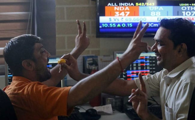 Sensex Surges Over 600 Points After BJP's Landslide Victory In 2019 Polls