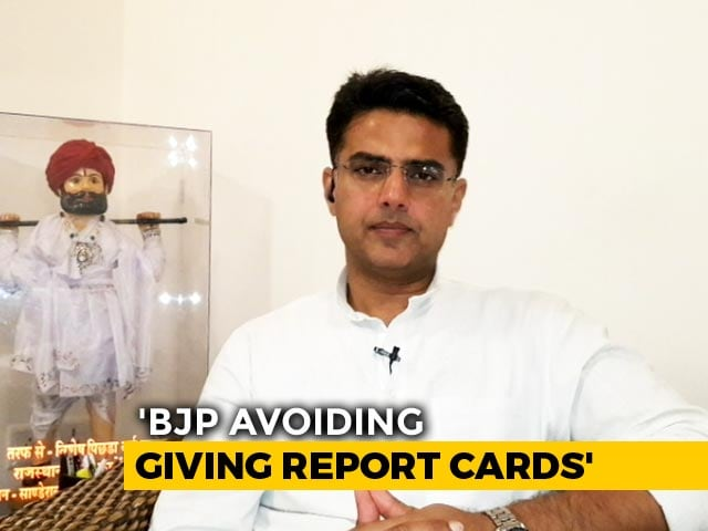 "Video : ""People Will Judge Us On Performance"": Congress' Sachin Pilot"