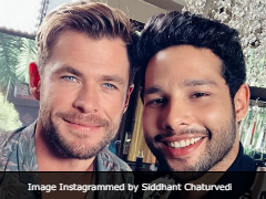 Siddhant Chaturvedi Asked Chris Hemsworth If He Was 'Worthy.' Here's The Answer