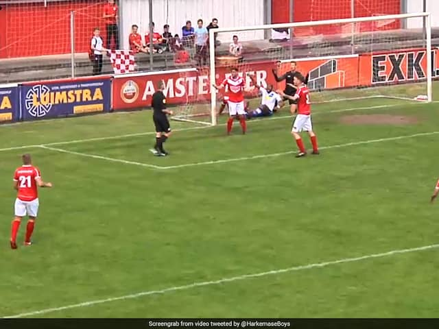 Watch: Referee Accidentally Scores In Dutch Football Game, Awards Goal