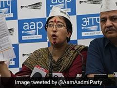 """BJP Has Sent Defamation Notices Against Me And Raghav Chadha"" : Atishi"
