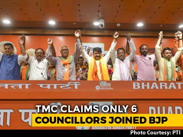 """Video : In """"Factcheck"""", Trinamool Says Mass Switch To BJP Happened """"At Gunpoint"""""""