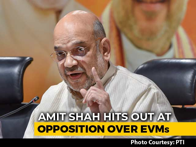 Amid Storm Over Voting Machines On Eve of Counting, Amit Shah's 6 Queries
