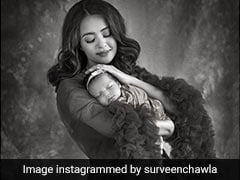 Surveen Chawla Shares First Pic Of Daughter Eva From Stunning Photoshoot
