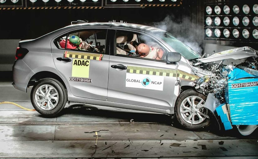 The Amaze was crash tested as part of Global NCAP's safer cars for Africa campaign.