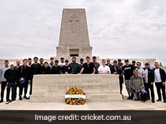 Australian Team Visits World War I Memorial Site Ahead Of World Cup 2019