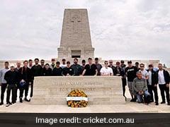 Australian Team Visits World War I Memorial Site Ahead Of World Cup 2019