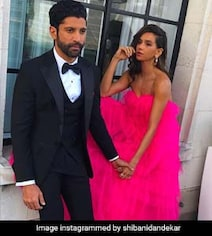 This Pic Of Shibani Dandekar And Farhan Looks Straight Out A Fairy Tale