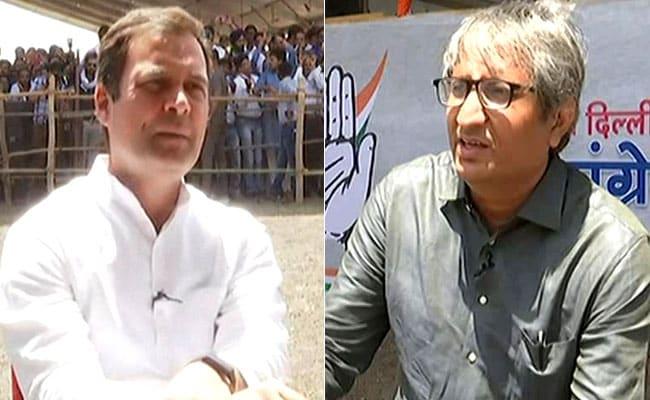 NDTV Exclusive: रवीश कुमार से बोले राहुल गांधी-  नरेंद्र मोदी जी ने दिखाया कि देश को किस तरह नहीं चलाना चाहिए
