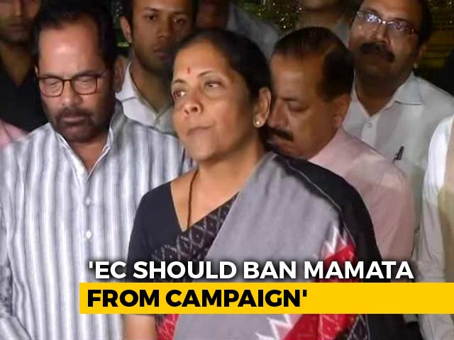 Video : BJP Leaders Urge Election Body To Take Action Against Bengal Government