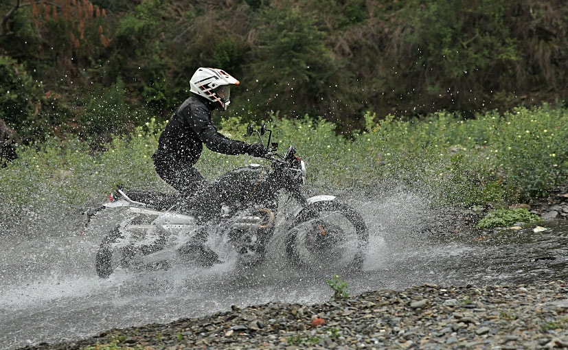 The Triumph Scrambler 1200 XC is priced at Rs. 10.73 lakh (ex-showroom)