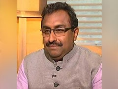 "Hitler, Mussolini Were ""Products Of Democracy"": BJP Leader Ram Madhav"