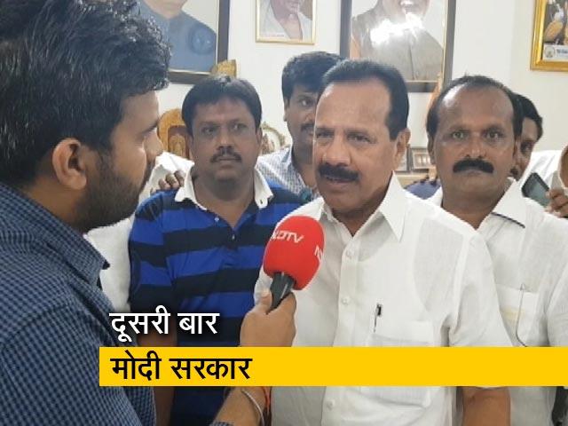 Video : शपथ ग्रहण से पहले क्या कहा सदानंद गौड़ा ने