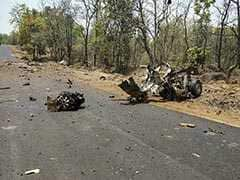 Maoists Were Watching As They Blew Up Police Vehicle In Gadchiroli