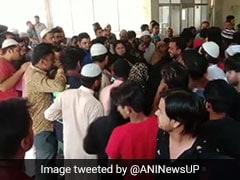 मिठाई के डिब्बे में लेकर आए पिस्तौल, दफ्तर में बैठे BSP नेता और उनके भांजे को गोली से उड़ाया