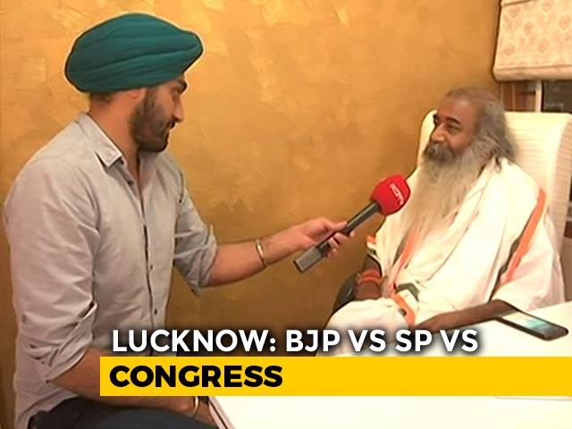 Video : Poonam Sinha, Rajnath Singh Fighting Polls Together, Says Acharya Pramod Krishnam