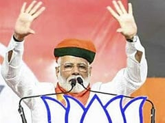 """Modi Wave"" Coming From Every Home In India, Says PM Modi At Rally"