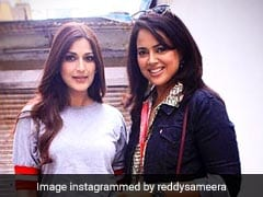 Sameera Reddy Dedicates Early Mother's Day Post To 'Powerful Warrior' Sonali Bendre