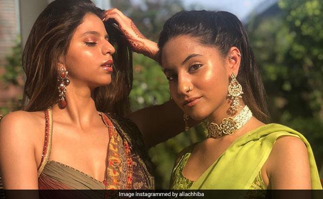 Suhana Khan's New Look From Family Wedding Has The Internet Smitten