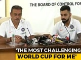 Video : Virat Kohli Addresses Media Ahead Of Team India Leaving For World Cup