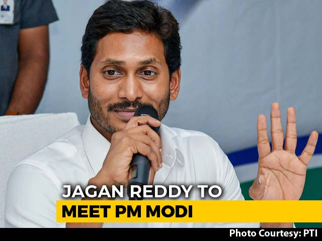Jagan Reddy To Meet PM Modi Today, May Discuss Andhra Special Status