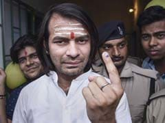 Lalu Yadav's Absence Big Challenge In Fighting Polls, Says Son Tej Pratap