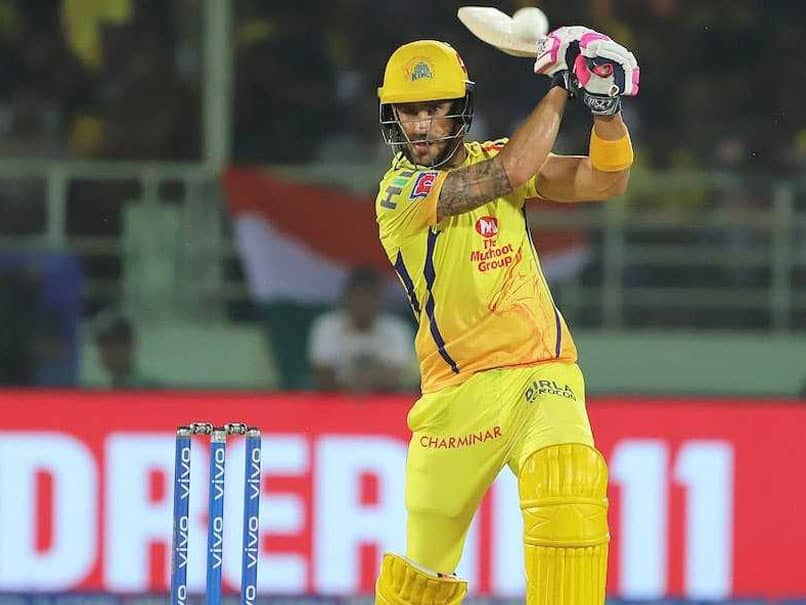 "Chennai Super Kings Players ""Share The Load In Winning Games"", Says Faf Du Plessis"