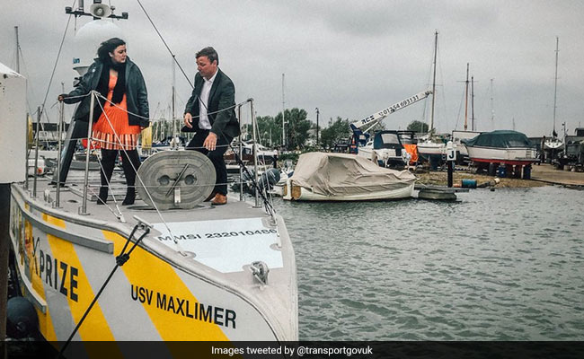 12-Metre Ship Aims To Be First To Cross Atlantic Without A Crew