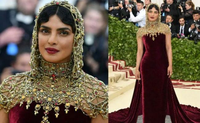 Ahead Of Met Gala 2019, Paris Hilton Hearts Priyanka Chopra's Bejewelled Look From 2018