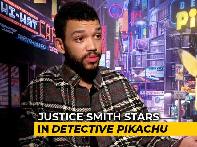 Video : <i>Detective Pikachu</i> Star Justice Smith On His Boyish Charm