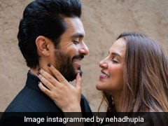 Ahead Of Their First Wedding Anniversary, Neha Dhupia And Angad Bedi Holiday In Mauritius. See Inside