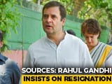 Video : Rahul Gandhi Meets 2 Congress Envoys, Says Find My Replacement: Sources