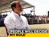 Video: NDTV's Ravish Kumar Asks Rahul Gandhi On His Prime Ministerial Ambitions