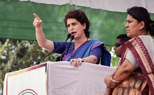 UP Government Targets Priyanka Gandhi Over Video On Police ''Cruelty''