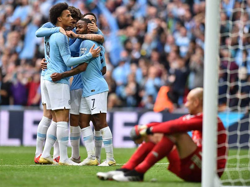Manchester City Thrash Watford In FA Cup Final To Complete Domestic Treble