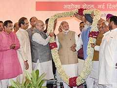 Ahead Of Vote Count, NDA Gets Together For Dinner Hosted by Amit Shah