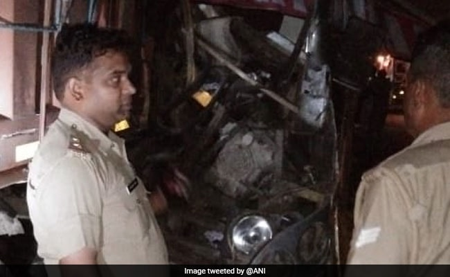 Driver Killed, 24 Injured In Bus-Truck Collision In Unnao, UP